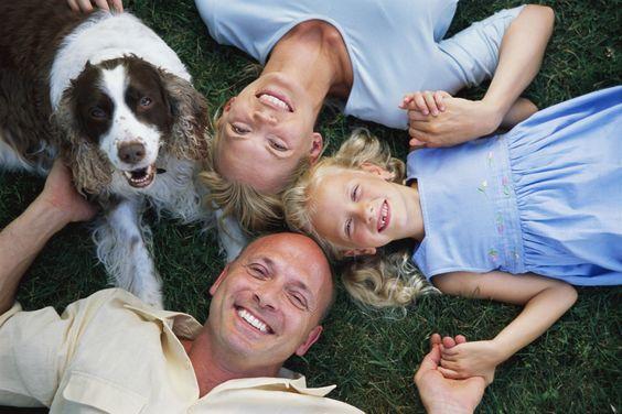 Семейные фото с собаками