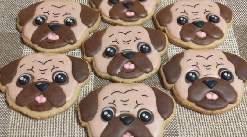 Печенье с собаками